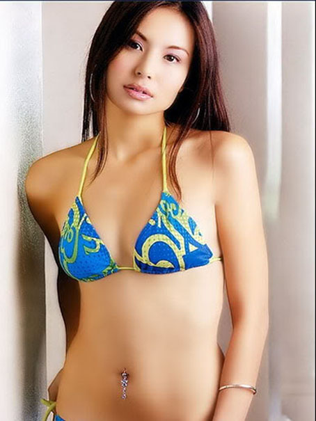 Malaysian actress in bikini photos — 5