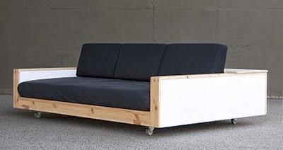 Ma maison au naturel canap s faire soi m me - Construire son lit ...
