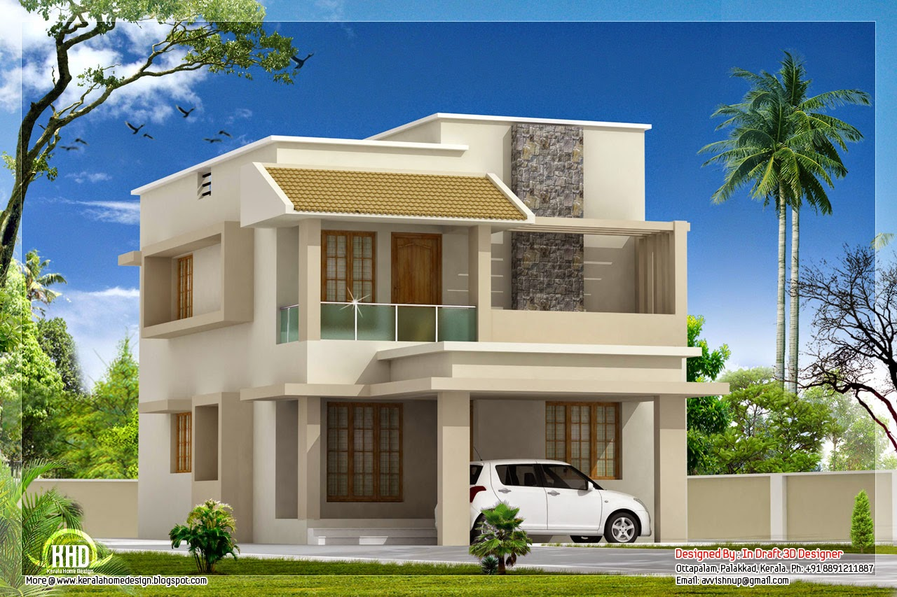 33 beautiful 2 storey house photos Villa designs india