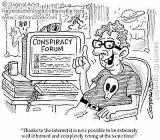 Conspiracy cartoon