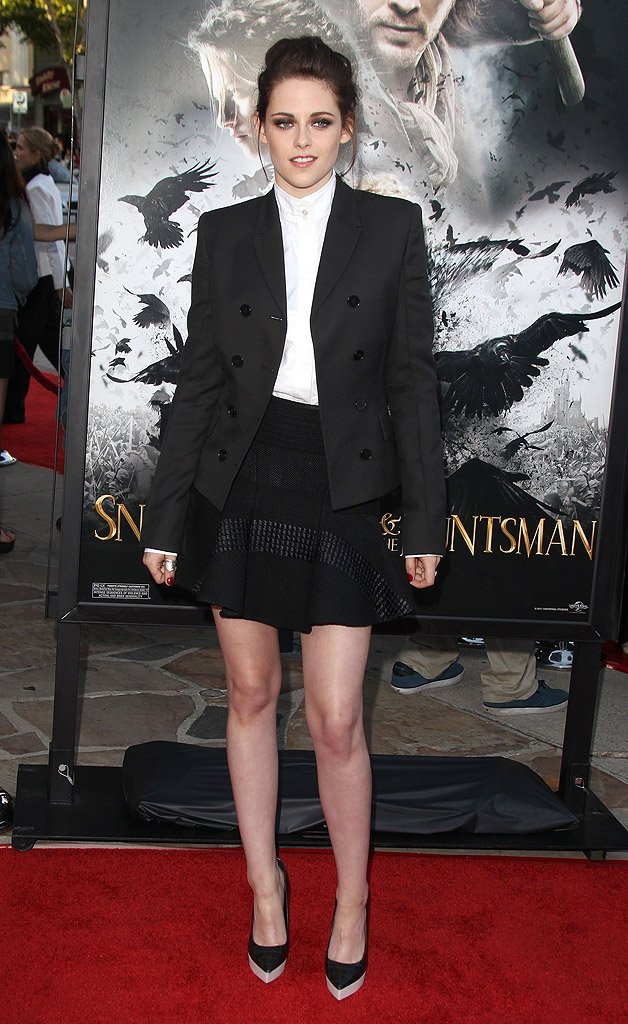 Actress Dress-Up Picture of Kristen Stewart