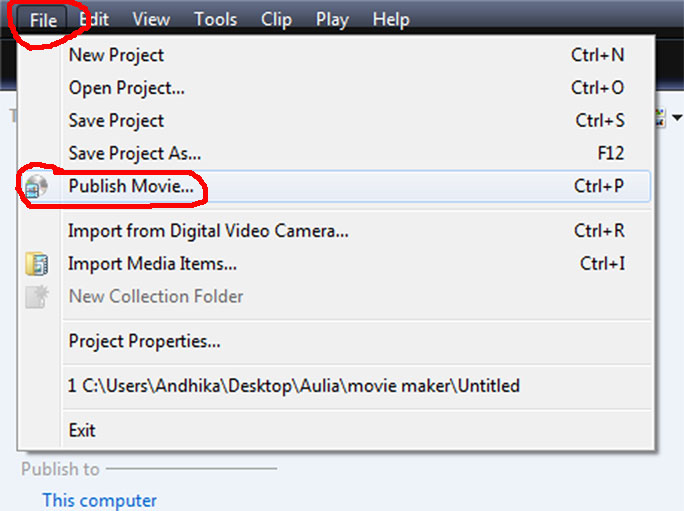 Cara Membuat dan Mengedit Video Menggunakan Movie Maker