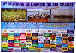 Limpeza do Rio Grande 2013