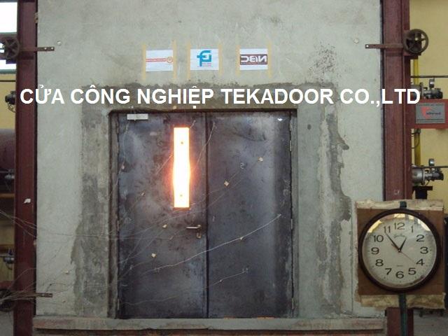 cửa thép chống cháy thế hệ mới