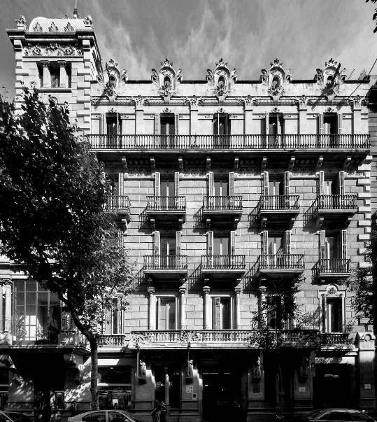 Barcelona ahora y siempre la casa garriga nogu s - Casa la garriga ...