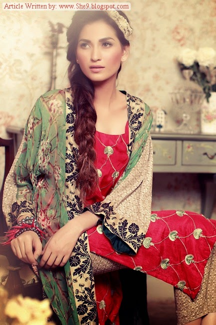 Tena Durrani Midsummer Collection 2014-2015