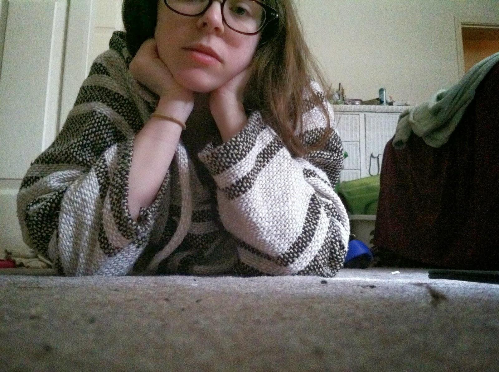 Lazy, Hippie, hoodie, dust bunnies