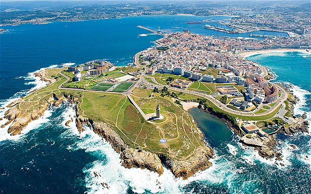 La Coruna Spain  City new picture : Click on: A CORUÑA: A PLACE TO LOOK FORWARD TO