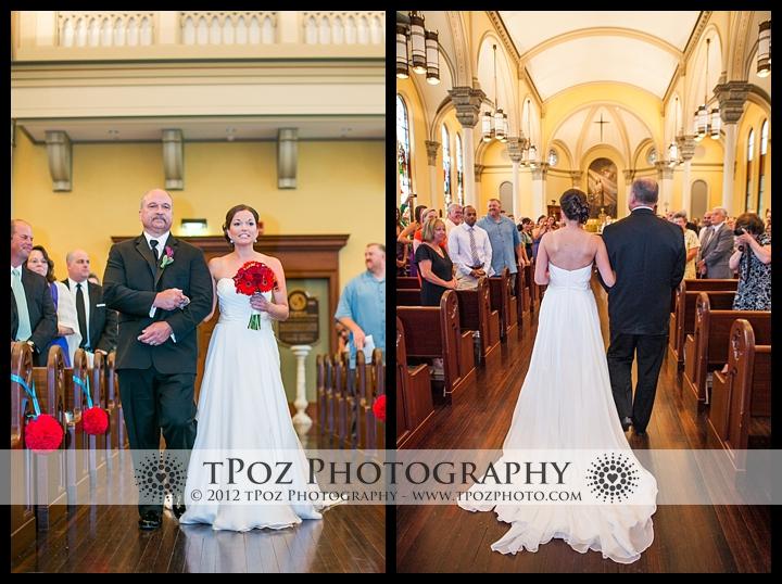 Marikle Chapel Notre Dame Wedding Ceremony