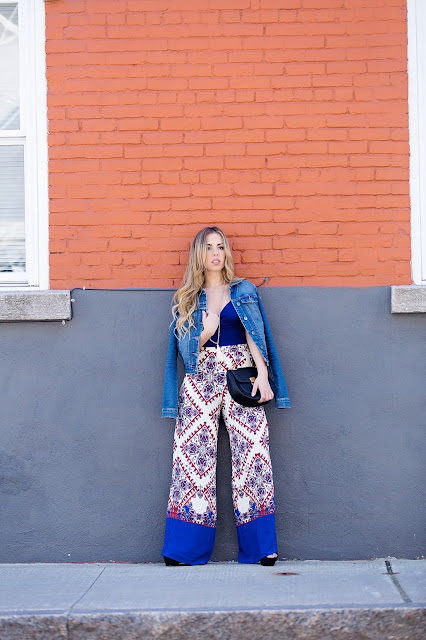 mode fashion zara aldo pantalons pants palazzo outfit blogger quebec