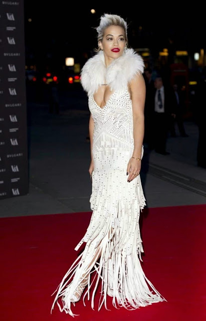 Rita Ora – The Glamour of Italian Fashion Exhibition in London