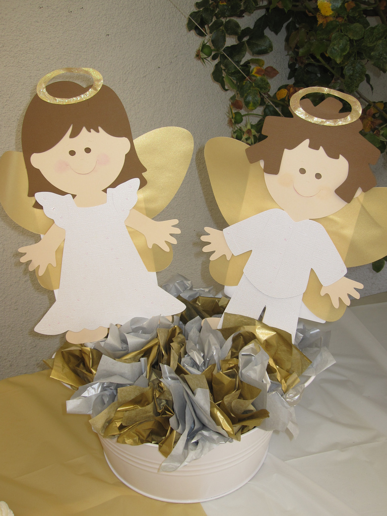 Crafting rocks for Altar decoration for first holy communion