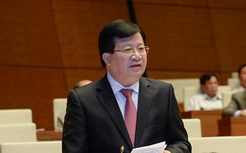 Bộ trưởng Trịnh Đình Dũng