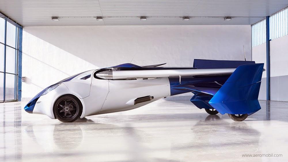 Mobil Terbang Aeromobil 3.0 Bagiang Samping