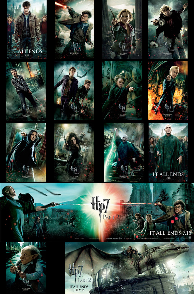 More New Harry Potter Character Posters