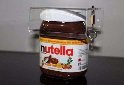 Alemão cria fechadura para trancar pote de Nutella