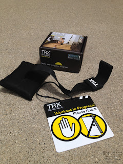 TRX Door Anchor Accessory, contents.