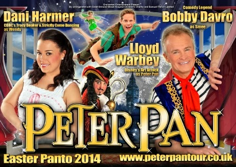 Easter Pantomime Peter Pan Weymouth Pavilion 15th April 2014