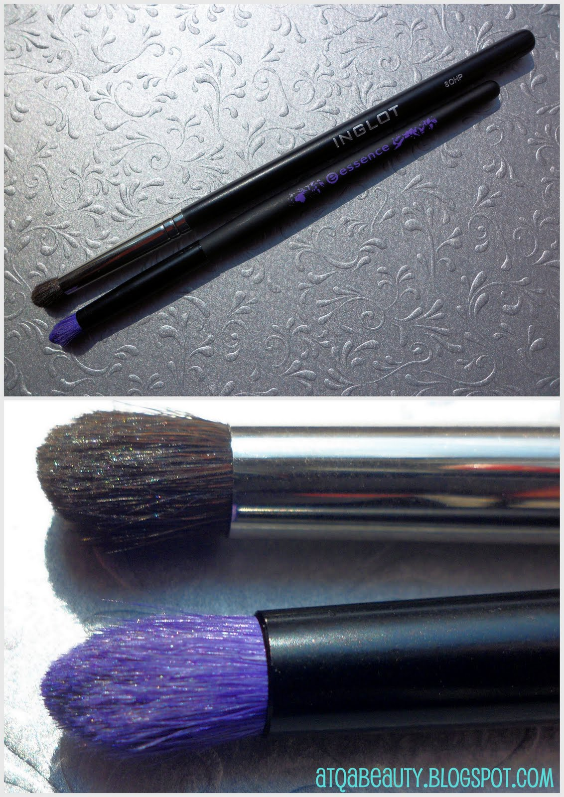 Essence Smokey Brush vs. Inglot 8OHP