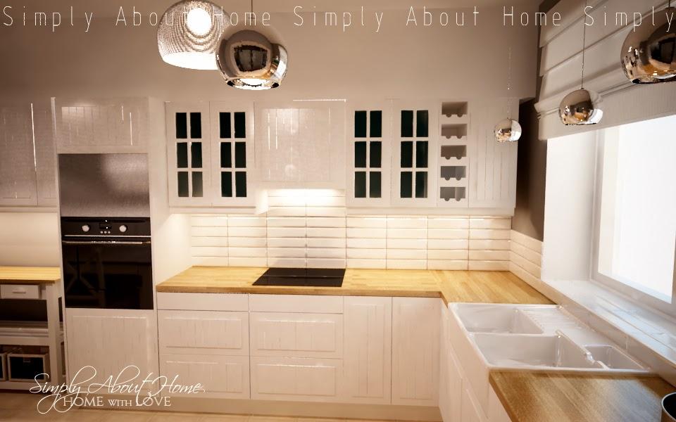 Simply About Home Oświetlenie W Kuchni Czyli Trudne Początki