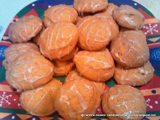 Oriana's Iced Pumpkin Cookies