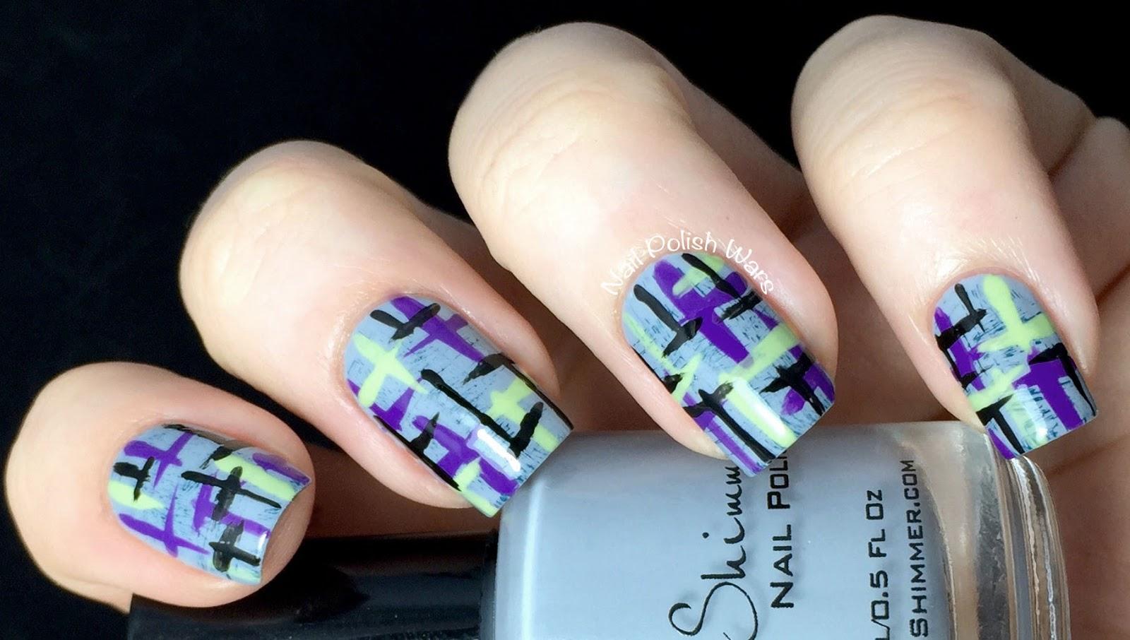Tweed Nails