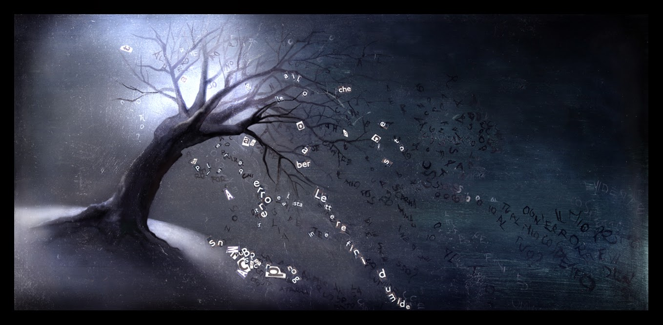 http://frandali.deviantart.com/art/The-tree-of-lost-words-Albero-surreale-43860198