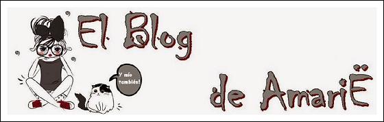 Cabecera de El Blog de Amarie