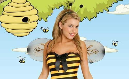 Disfraz de abeja para Carnaval