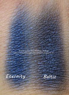 Nabla - Artika Collection - Eternity VS Baltic - comparazione