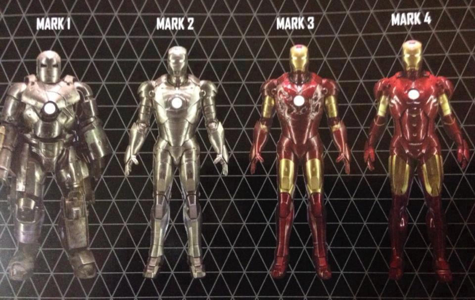 All Iron Man Suits Mark 1 42 | www.pixshark.com - Images ...