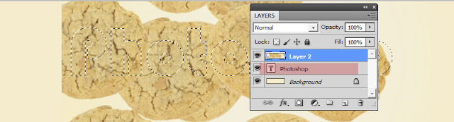 text+biskuit5 Cara membuat Text Cookies Typography dengan photoshop