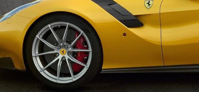 フェラーリF12TDF ブレーキ