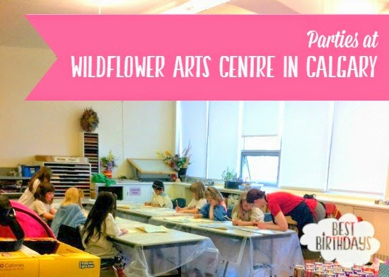 Real Party: Wildflower Arts Centre in Calgary  |  Best Birthdays