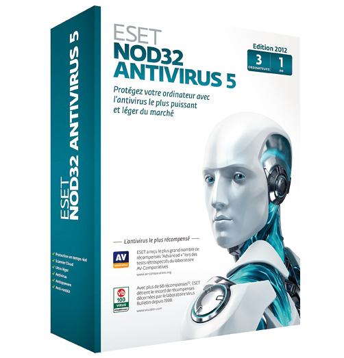 ESET NOD32 AntiVirus 5.2.9.12 RUS Repack + Crack