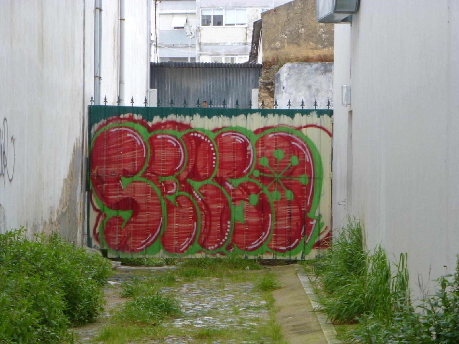 The graffiti of setubal