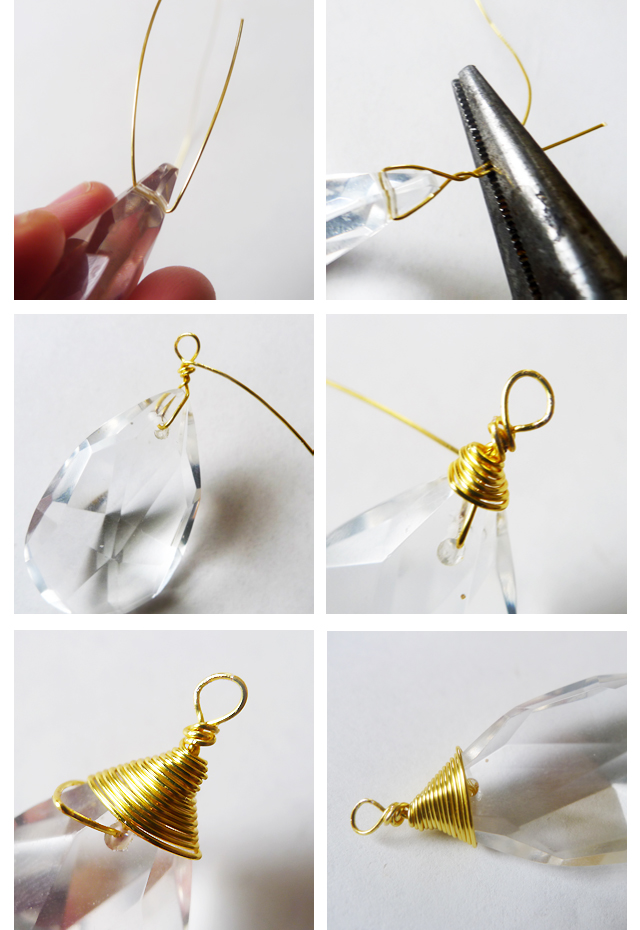 Thanks, I Made It : DIY Vintage Chandelier Crystal Necklace