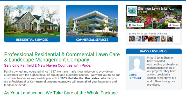 reputable lawn care and landscaping company in CT