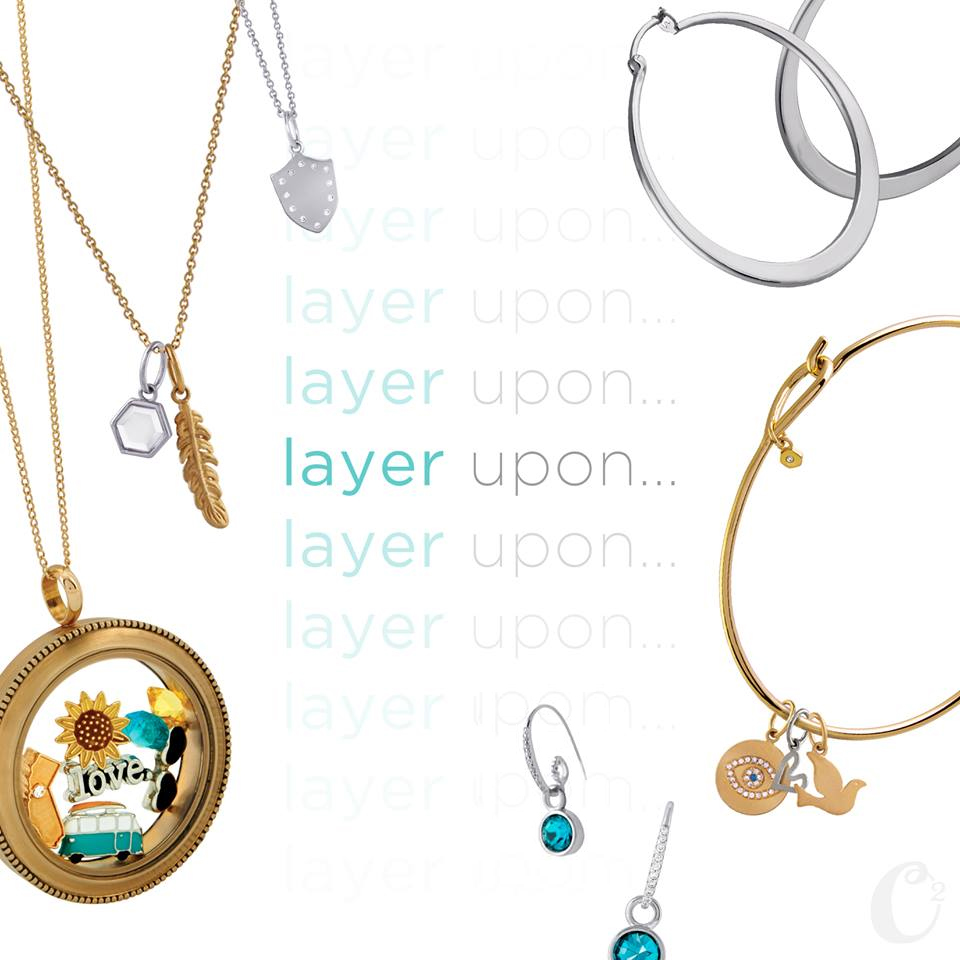 Layer your Origami Owl pieces to create a look that is totally you!  | Shop StoriedCharms.com