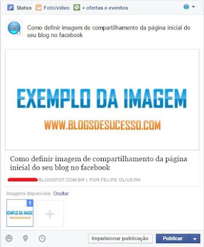 Meta Tags - Imagem de compartilhamento do seu blog no facebook