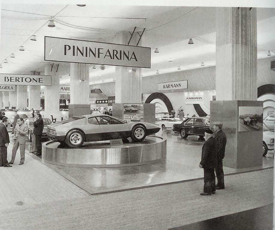 ferrari 400 pininfarina paris auto salon 1972. Black Bedroom Furniture Sets. Home Design Ideas