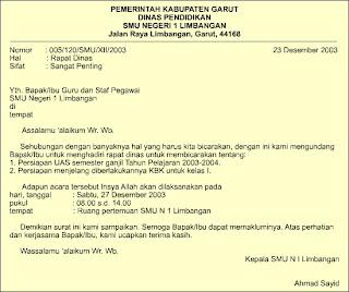 jenis-jenis karangan: Bahasa Indonesia