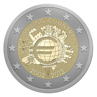 Commemorative Coins: 10 years of the Euro (Various Countries)