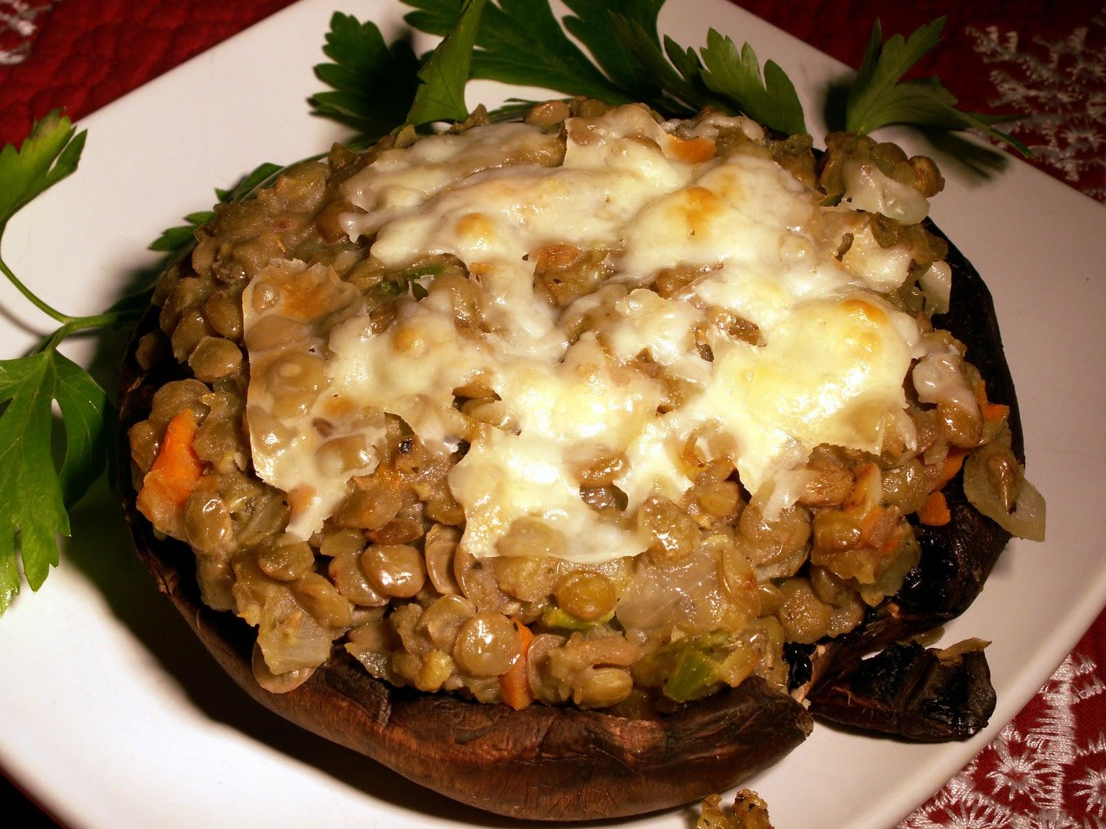 Mom, What's For Dinner?: Healthy Stuffed Portobello Mushrooms