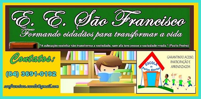 Blog da Escola Estadual São Francisco