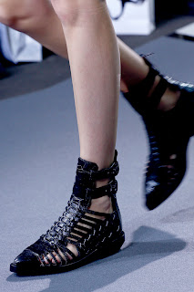 Punk version of the gladiator sandal for Spring
