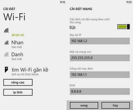 Wifi khong vao duoc Facebook