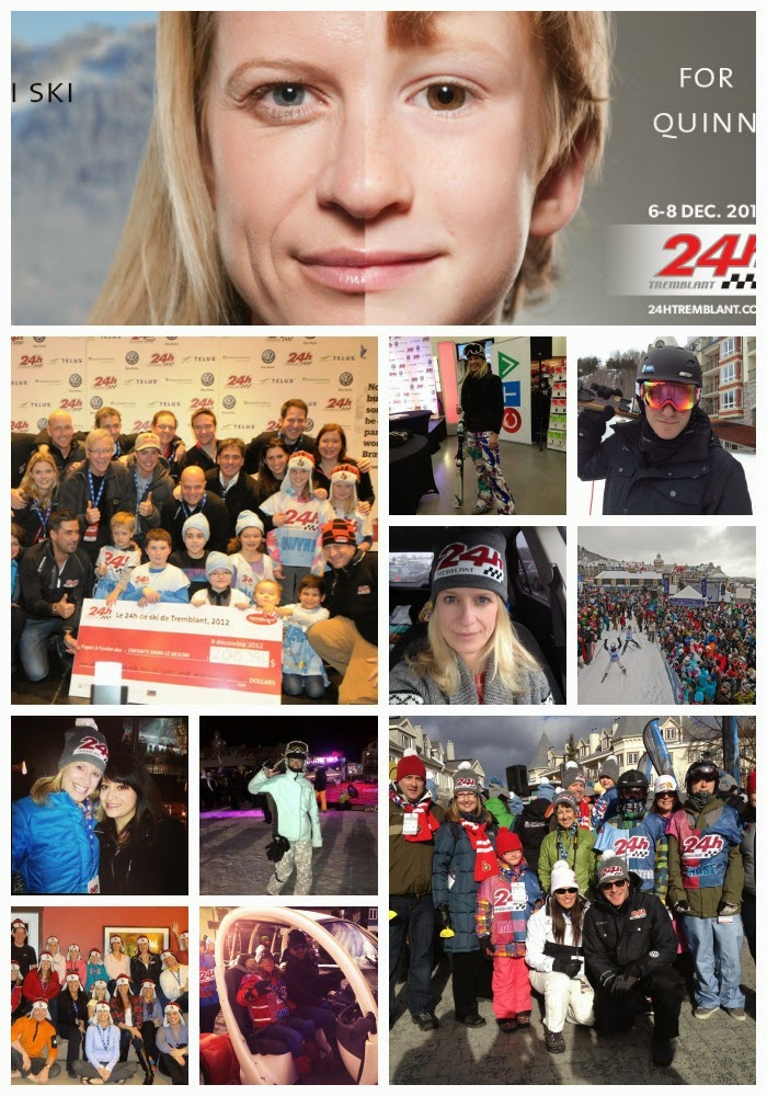 24h tremblant; mont tremblant; tremblant village; sens foundation; charity