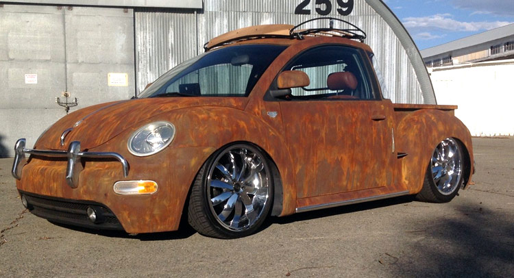 Is This One Of The Coolest Vw New Beetles Around Or What W Video
