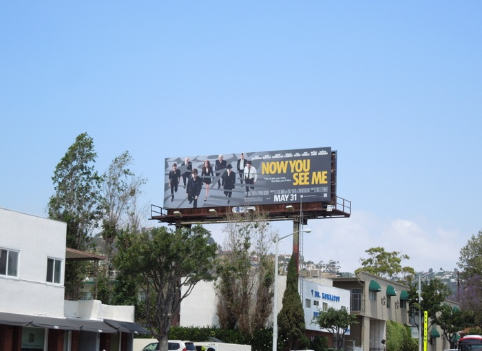 Now You See Me billboard